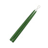 "Holly Green 15"" Taper Candle 1 Pair"