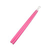 "Hot Pink 15"" Taper Candle 1 Pair"