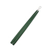 "Hunter Green 15"" Taper Candle 1 Pair"