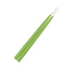 "Lime Green 15"" Taper Candle 1 Pair"