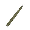 "Moss Green 15"" Taper Candle 1 Pair"