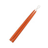 "Terra Cotta 15"" Taper Candle 1 Pair"