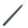 "Taper Candles 24"" - 1 pair Hunter Green"