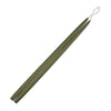"Taper Candles 24"" - 1 pair Moss Green"