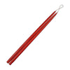 "Taper Candles 24"" - 1 pair Red"