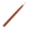 "Taper Candles 24"" - 1 pair Rust"