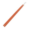 "Taper Candles 24"" - 1 pair Terra Cotta"