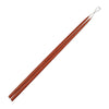 "Taper Candles 30"" - 1 pair Rust"