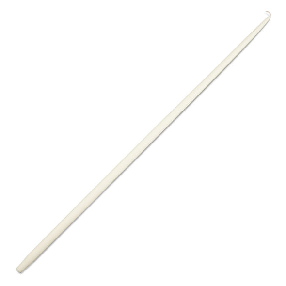 Ivory Taper Candle 39.4""