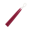 "Red Taper Candles 6"" Thin - 24 candles"