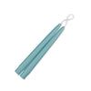 "Taper Candles 9"" - 1 pair Aquamarine"