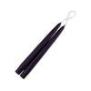 "Taper Candles 9"" - 1 pair Egg Plant"