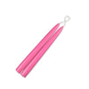"Taper Candles 9"" - 1 pair Hot Pink"