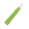 "Taper Candles 9"" - 1 pair Lime Green"