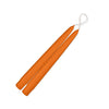 "Taper Candles 9"" - 1 pair Mango"