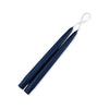 "Taper Candles 9"" - 1 pair Navy Blue"