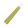 "Taper Candles 9"" - 1 pair Pistachio"