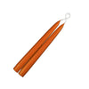 "Taper Candles 9"" - 1 pair Terra Cotta"