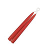 "Taper Candles 9"" - 1 pair Wild Poppy"