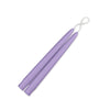 "Taper Candles 9"" - 1 pair Wisteria"