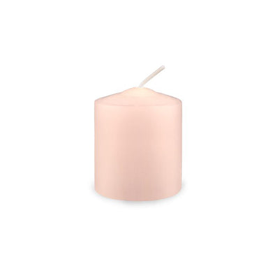 Votive Candles - 8/box - Barely Blush