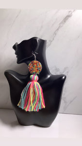 Candy 🍭 Tassel Earrings