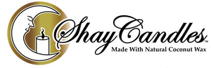 Shay Candles Made with Natural Coconut Wax logo