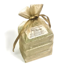 "Green Tea, Lemongrass Soap Set of Three Bars ||""GREEN TEA and LEMONGRASS"""