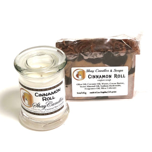"Cinnamon Roll Soap and Candle Gift Set ||""CINNAMON ROLL GIFT SET"""