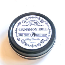 "Cinnamon Roll, White Frosting Scented Candles ||Set of Three 2oz Travel Tins ||""Cinnamon Roll"""