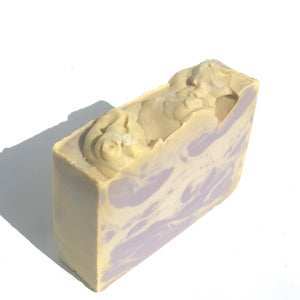 Orchid Swirl 5oz Vegan Soap.  Sophisticated scent blend of Orchid, Tuberose, Clove.