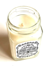"Lavender, Lemon, Cookie Scented 6oz Candle ||Coconut Wax||""Lavender Lemon Cookie"""