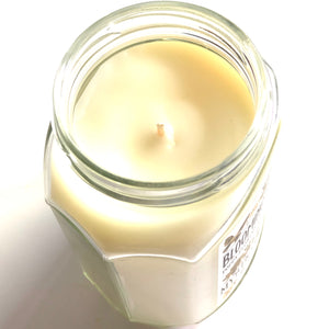 "Poppy Flowers, Fresh Grass, Woods Scented 12oz Coconut Wax Candle|""Blooming Poppies"""