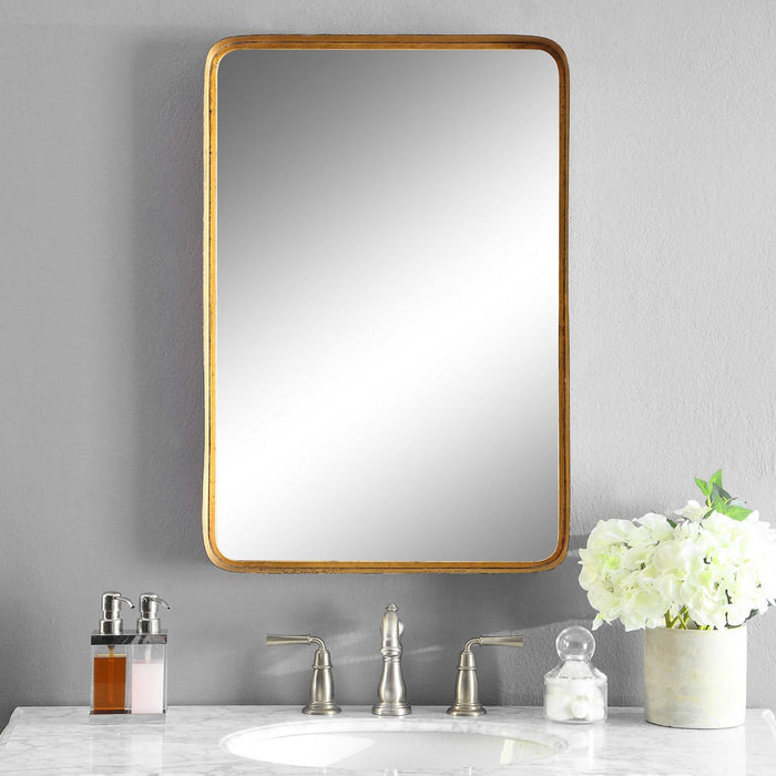 Uttermost Crofton Gold Mirror - Uttermost 13936