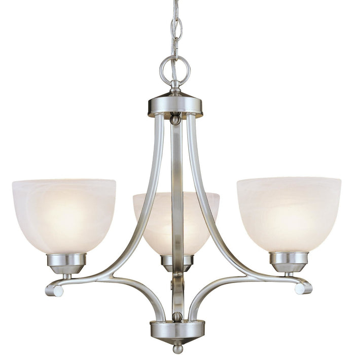 Minka Lavery 1423-84 Paradox 3 Light Mini Chandelier