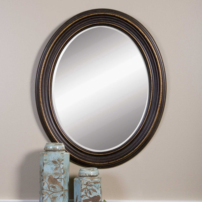 Uttermost 14610 Ovesca Oval Mirror - ALCOVE LIGHTING