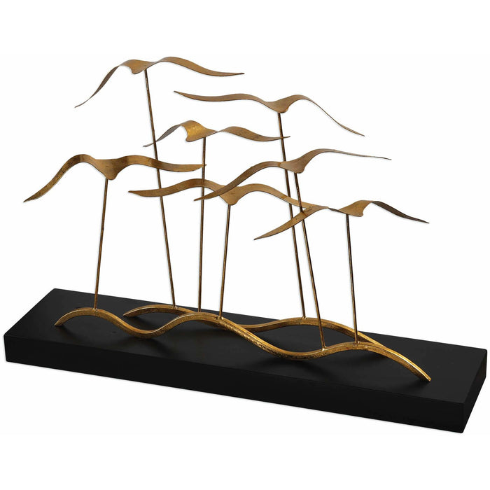 Uttermost 18798 Flock of Seagulls Sculpture