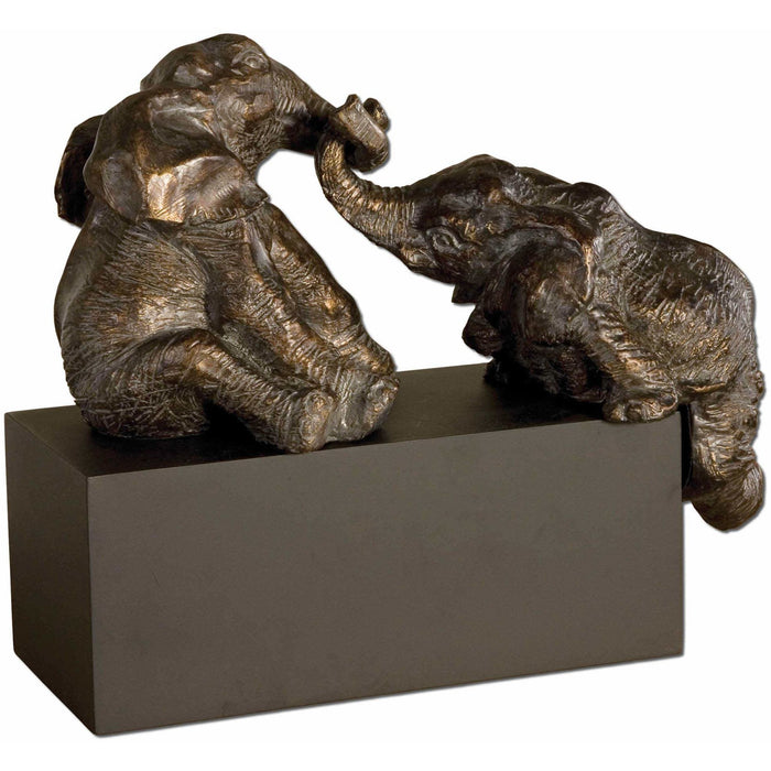 Uttermost 19473 Playful Pachyderms Elephant Figurines