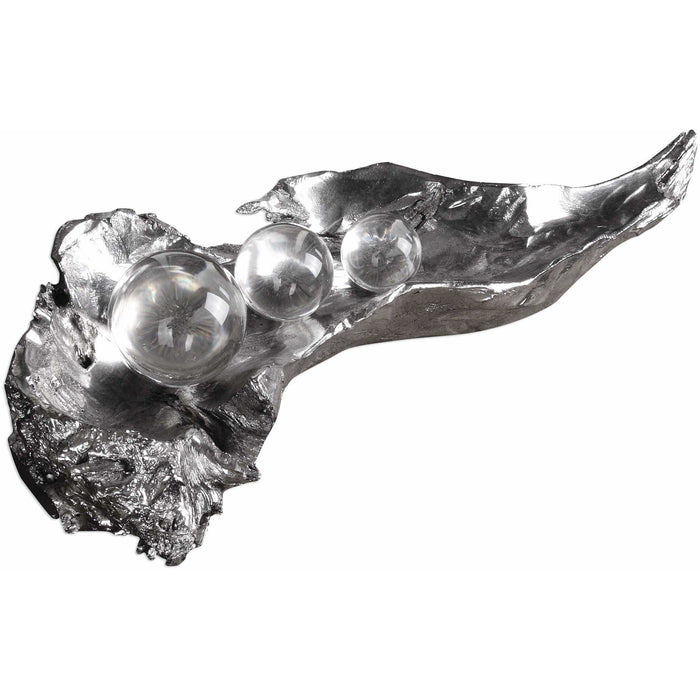 Uttermost 20134 Three Peas In A Pod Metallic Sculpture