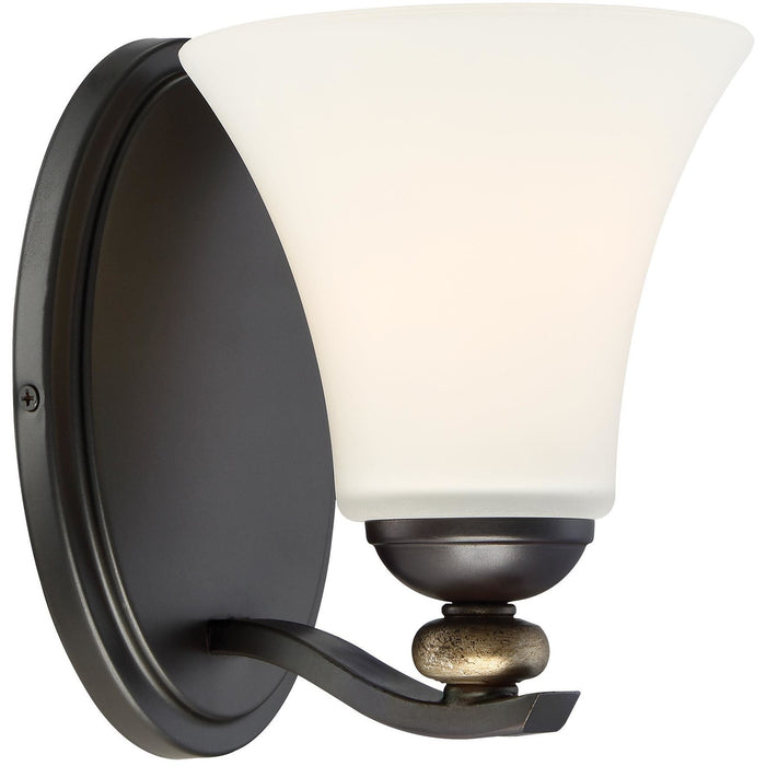 Minka Lavery 2281-589 Shadowglen 1 Light Bathroom Vanity Light Sconce