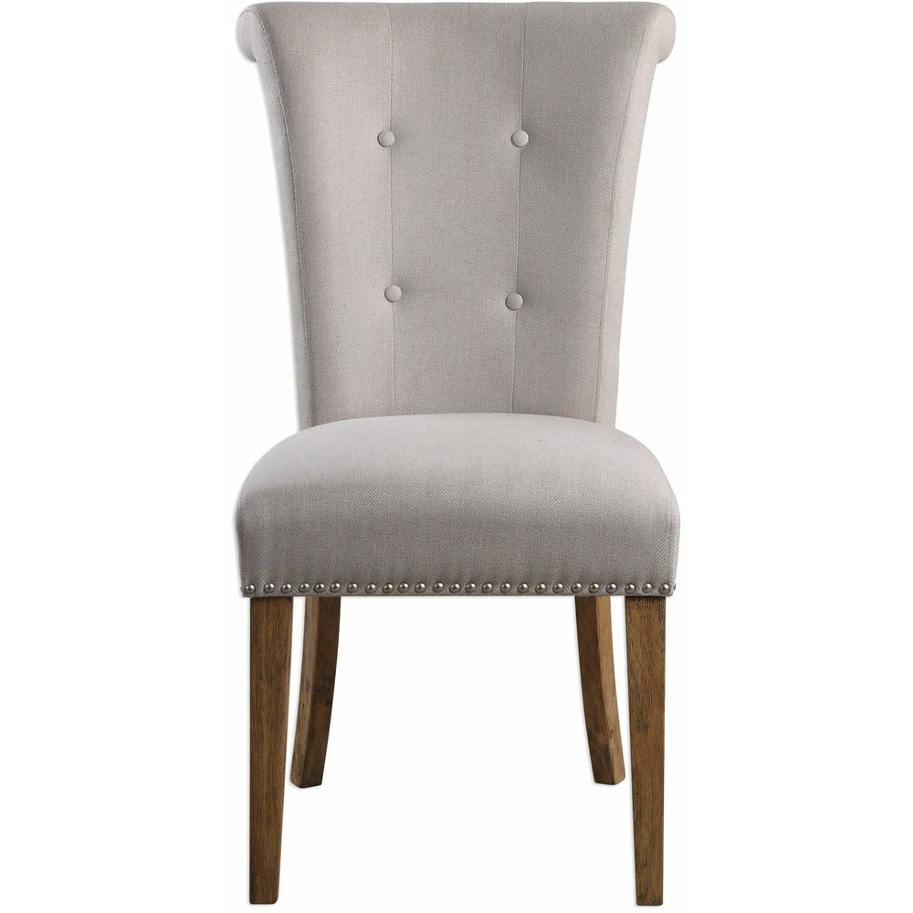Uttermost 23374 Lucasse Oatmeal Dining Chair