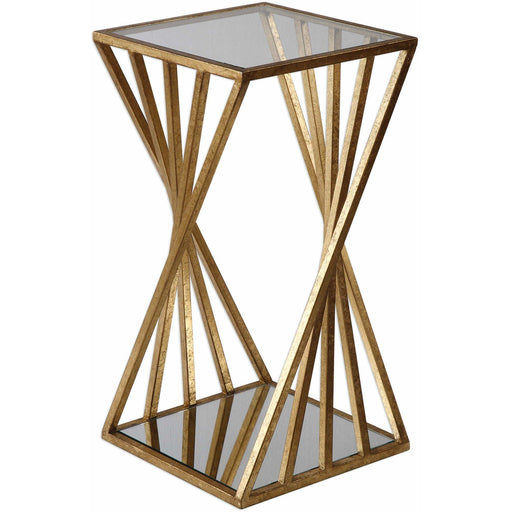 Uttermost 24723 Janina Gold Dimensional Accent Table