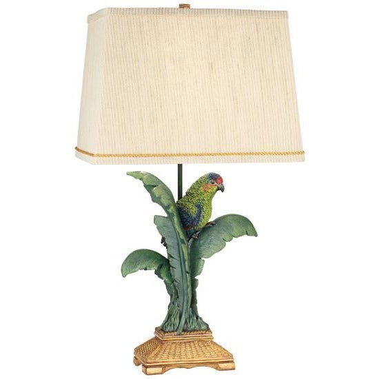 Pacific Coast Lighting 87-7265-81 Tropical Parrot Table Lamp