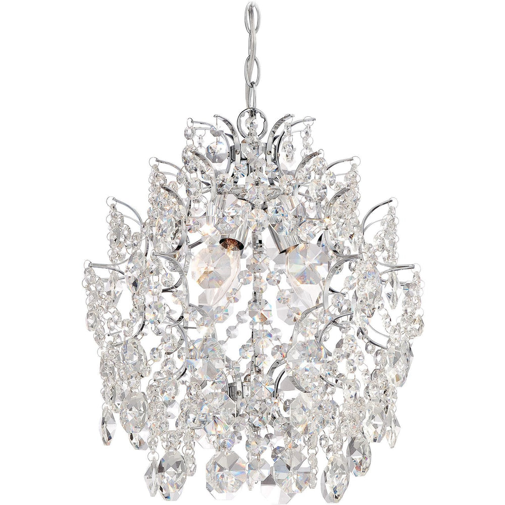 Minka Lavery 3150-77 3 Light Mini Chandelier