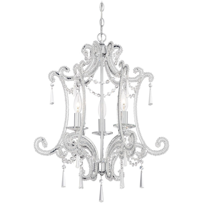 Minka Lavery 3152-77 3 Light Mini Chandelier