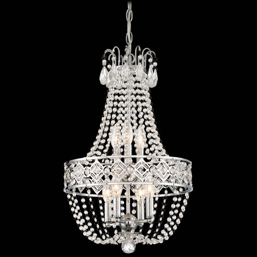 Minka Lavery 3159-77 7 Light Chrome Mini Chandelier