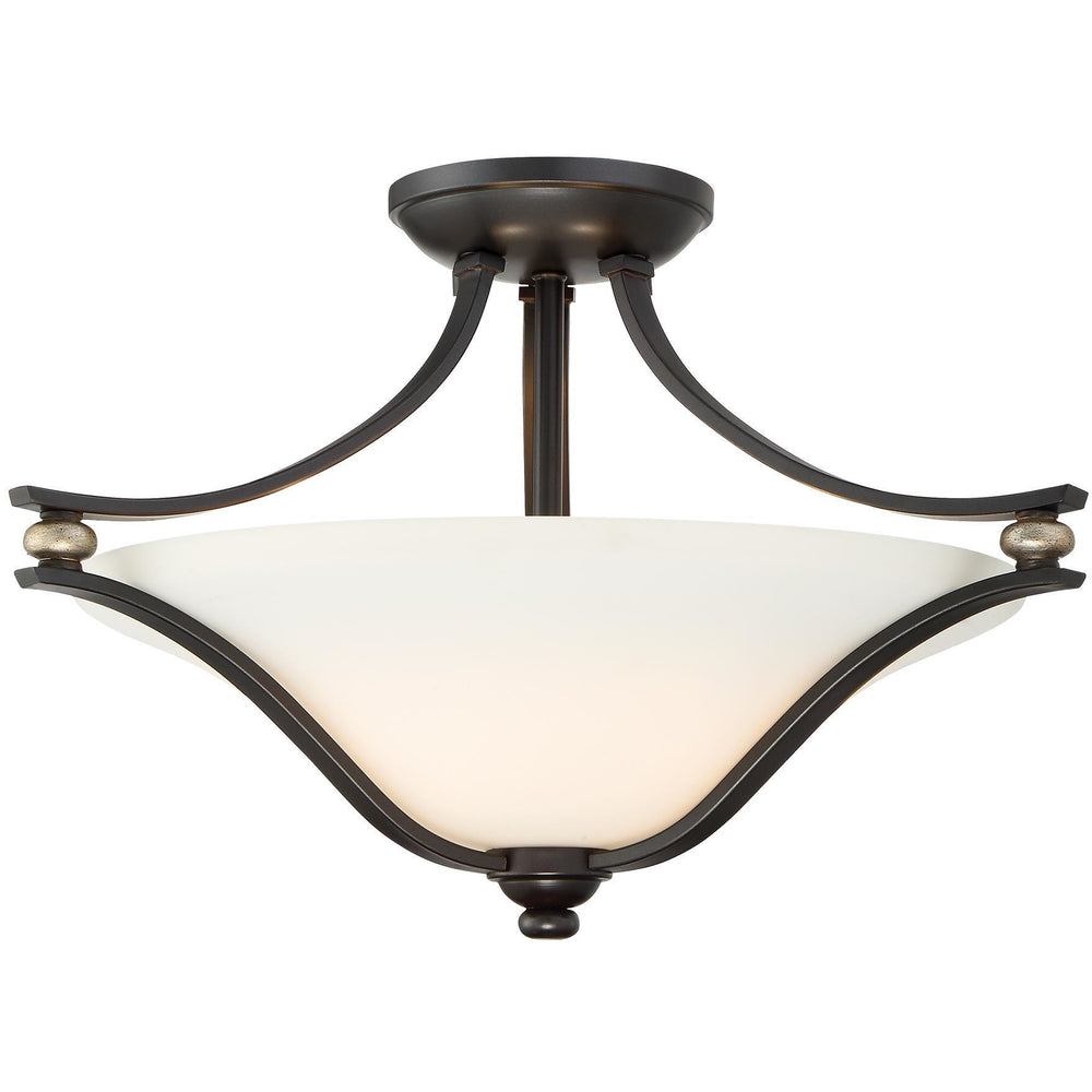 Minka Lavery 3282-589 Shadowglen 2 Light Semi Flush Mount