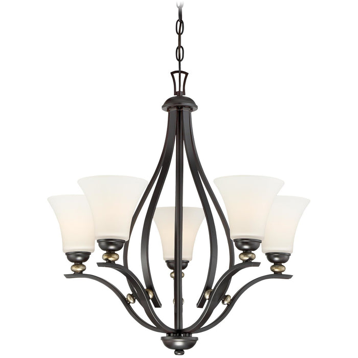 Minka Lavery 3285-589 Shadowglen 5 Light Chandelier