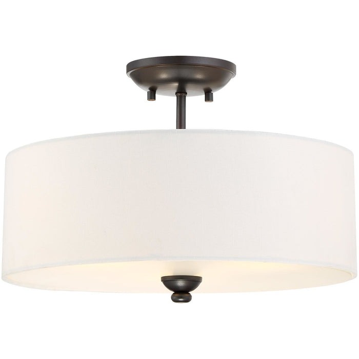 Minka Lavery 3286-589 Shadowglen 3 Light Semi Flush Mount