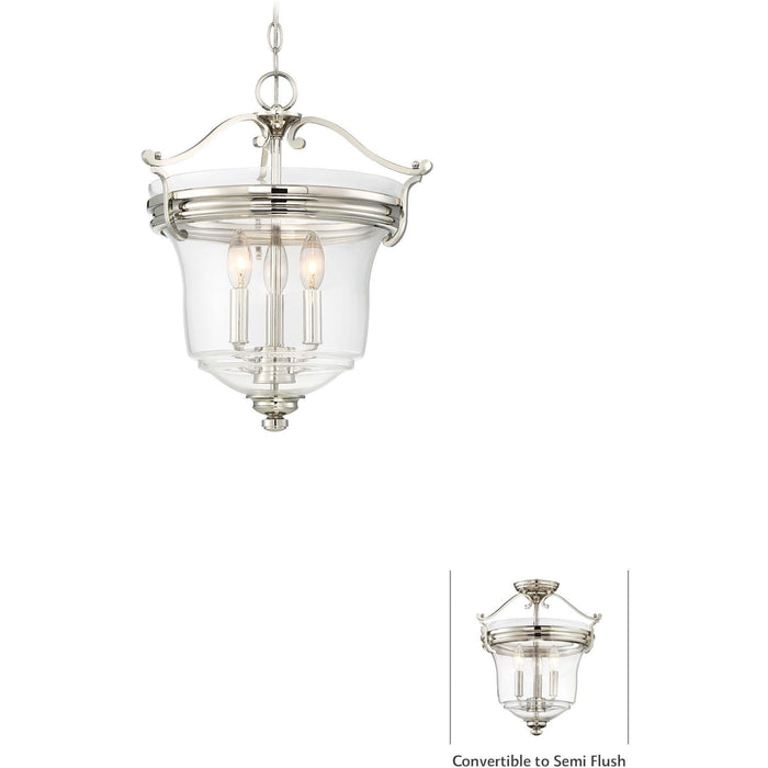 Minka Lavery 3297-613 Audrey'S Point 3 Light Pendant Light